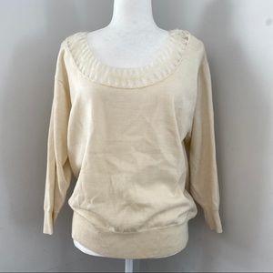 Paris Atelier Camille Sweater | wool cream unique
